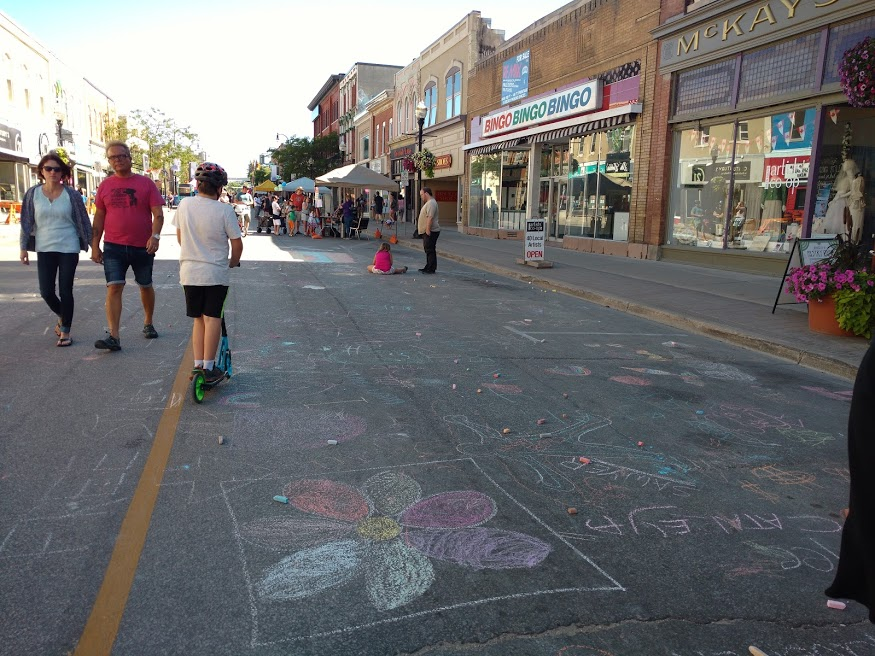 Local festivals and activities provide a great quality of life in Owen Sound, Ontario.