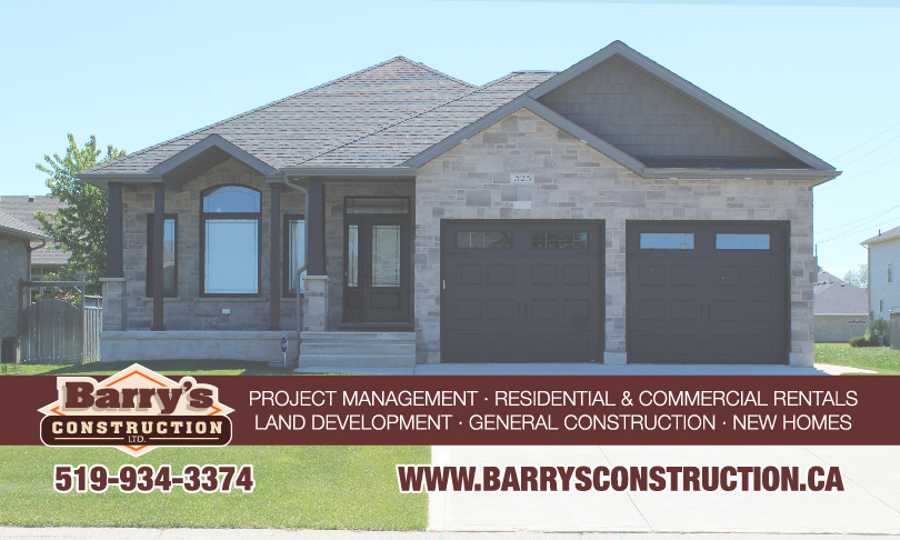 Barry's Construction Ltd - Project Management, Residential & Commercial Rentals, Land Development & More