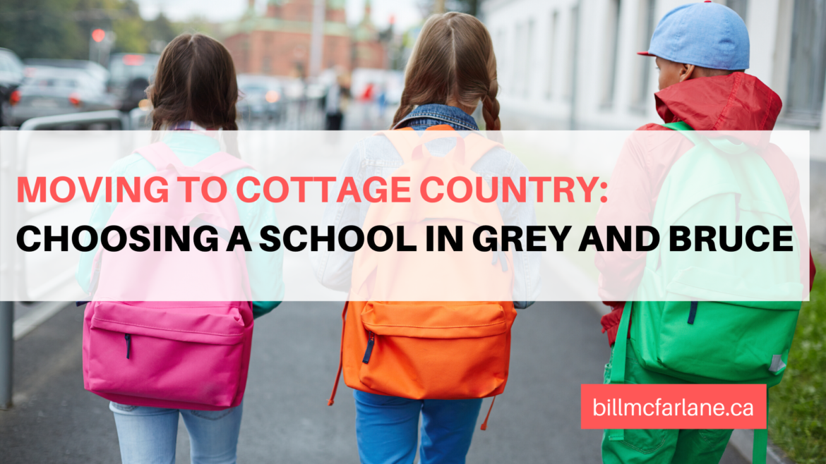 Moving to Cottage Country: Choosing a School in Grey and Bruce