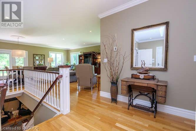 Searching for Grey-Bruce property? Check out this large, tranquil family home on Zion Church Road in Georgian Bluffs.